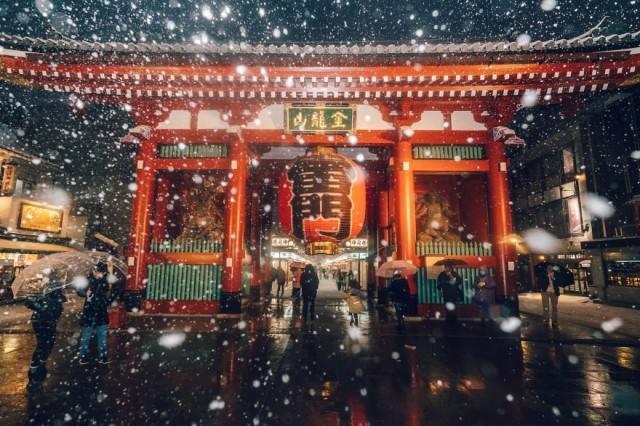 Ночные снимки Токио